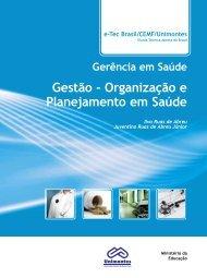 Gestão - Organização e Planejamento em Saúde
