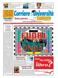 FREE/PRESS novembre 07 - CorriereUniv.it
