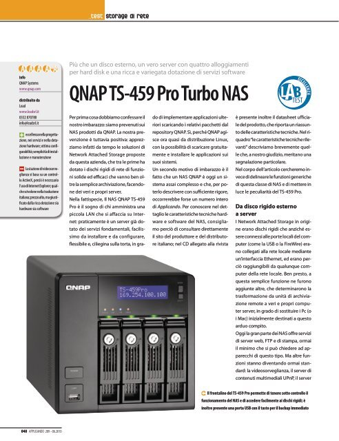 QNAP TS-809 PRO TURBO NAS QTS TELECHARGER PILOTE