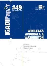 Wikileaks acurrala a Washington - Igadi