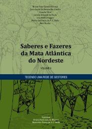Saberes e Fazeres da Mata Atlântica do Nordeste