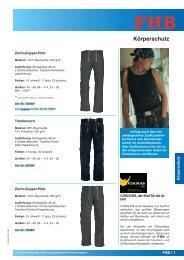Körperschutz - arbeitsschutz-online.de