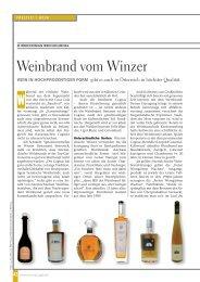 Weinbrand vom Winzer