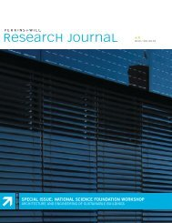 Research Journal Vol. 05.01: Special Issue (National ... - Perkins+Will