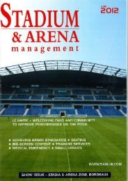 Le Havre features in June's Stadium & Arena magazine - KSS Group