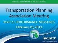 Task Force on Performance Measures