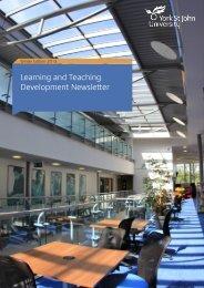 Learning and Teaching Development Newsletter