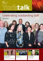 Celebrating outstanding staff