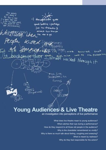 Young Audiences & Live Theatre
