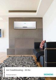 Air Conditioning - 50 Hz - Siemens