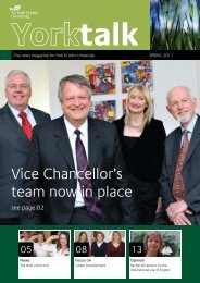 Vice Chancellor's team now in place
