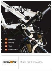 Bedienung, Wartung, Tipps und Garantie - Maxx