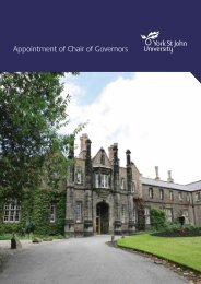 Appointment of Chair of Governors