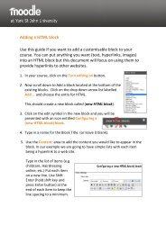 Adding a HTML block Use this guide if you want to add a ...