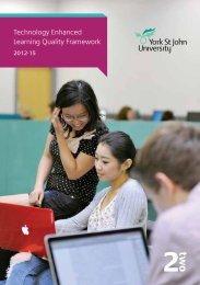 Technology Enhanced Learning Quality Framework