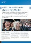 Graduation 2011 – joyful celebrations in York Minster - Page 2