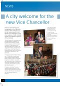 A city welcome for the new Vice Chancellor - Page 2