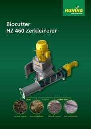 Biocutter HZ 460 Zerkleinerer - Huning