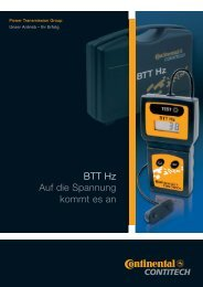 BTT Hz (PDF, 189 KB) - ContiTech AG