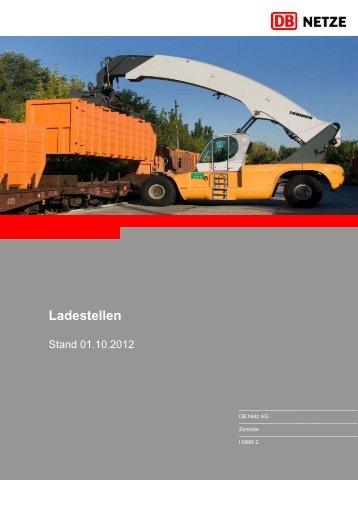 Liste der Ladestellen 2008 - DB Netz AG - DB Netze