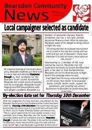 Bearsden Community News - East Dunbartonshire Labour Party