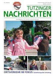 Download Heft 06 / Juni 2011 - Tutzinger Nachrichten
