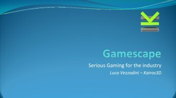 Serious Gaming for the industry - Mimos