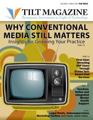 Why Conventional Media Still Matters