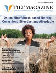 Online Mindfulness-based Therapy Convenient Effective and Affordable