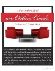 an Online Coach