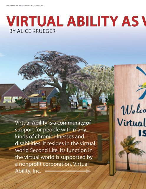 Virtual Ability as V