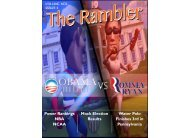 Volume XCII, Issue 4 of The Rambler - Cathedral Prep