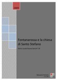 Fontanarossa e la chiesa di Santo Stefano