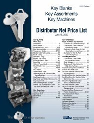 Distributor Net Price List - Top Notch Distributors