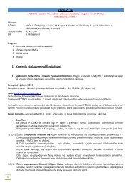 Zápis P ČMKU ze dne 28.6.2012