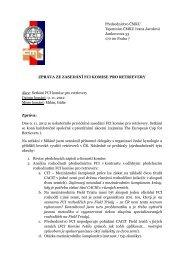 Příloha č. 5 k zápisu z P ČMKU ze dne 16.11.2012 (FCI komise ...