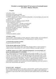 Příloha č. 5 k zápisu z P ČMKU ze dne 26.10.2011