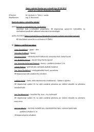 Příloha č. 3 k zápisu z P ČMKU ze dne 13.9.2012