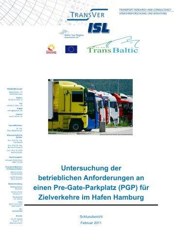 Untersuchung der betrieblichen Anforderungen an ... - TransBaltic