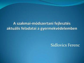 Sidlovics Ferenc