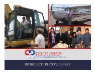 Tech Prep 101 - Tech Prep of the Rio Grande Valley, Inc.