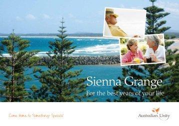 Sienna Grange