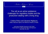 pharmacological, immunological or metabolic mode of action of the ...