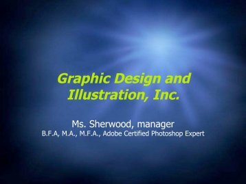 Graphic Design and Illustration, Inc.