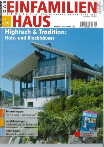 Lesen Sie hier den ganzen Artikel (PDF) - ARGE-Haus