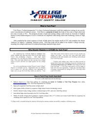What is Tech Prep? Why Should I Register in CATEMA for Tech ...