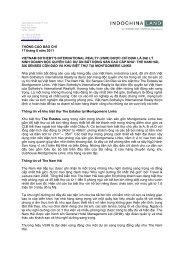 THÔNG CÁO BÁO CHÍ 17 tháng 6 năm 2011 VIETNAM SOTHEBY'S ...