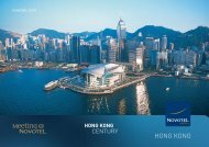 Meeting brochure - Novotel Century Hong Kong Hotel