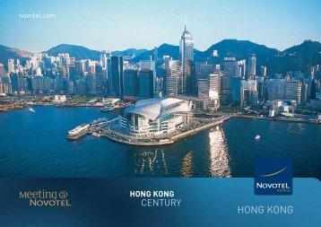 hotel fact sheet novotel century hong kong hotel. Black Bedroom Furniture Sets. Home Design Ideas