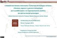 PDF = ROMA ARCHEOLOGIA: Dott.ssa Mirella Serlorenzi (a cura di)
